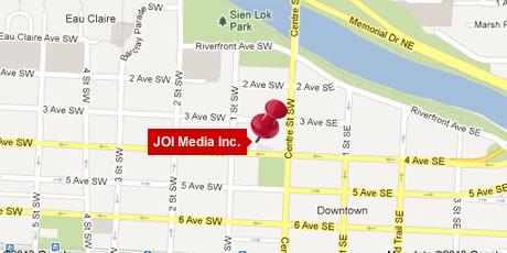 JOI Media map
